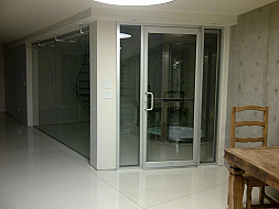 Interior Aluminum Door - Swing Style