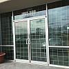 72006 aluminum swinging commercial door broken glass replacement