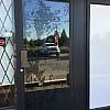 78361 new aluminum glass swinging door