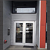 Aluminum Entrance Door with Transom