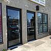 New Storefront Aluminum Door Replacement - Narrow Style Entrance Door