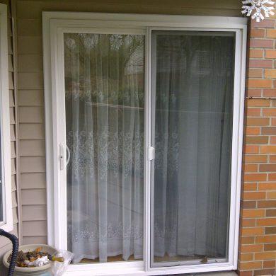 We installed new patio doors. This patio doors were in standard size. Patio doors were installed on Victoria Drive house.