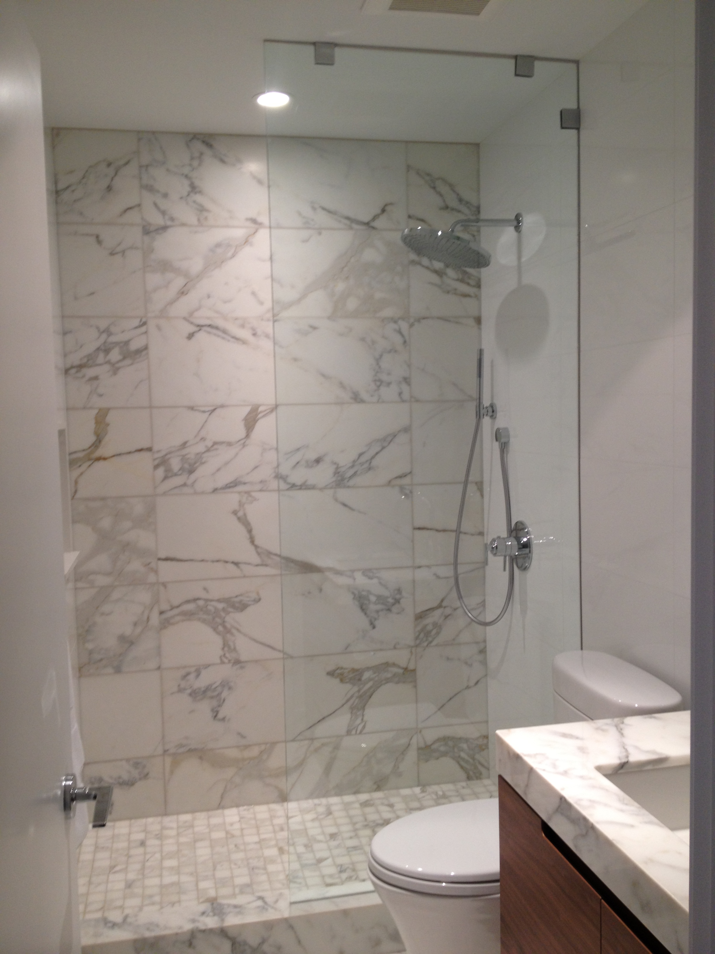 Custom Frameless Glass Shower | Louisiana Bucket Brigade