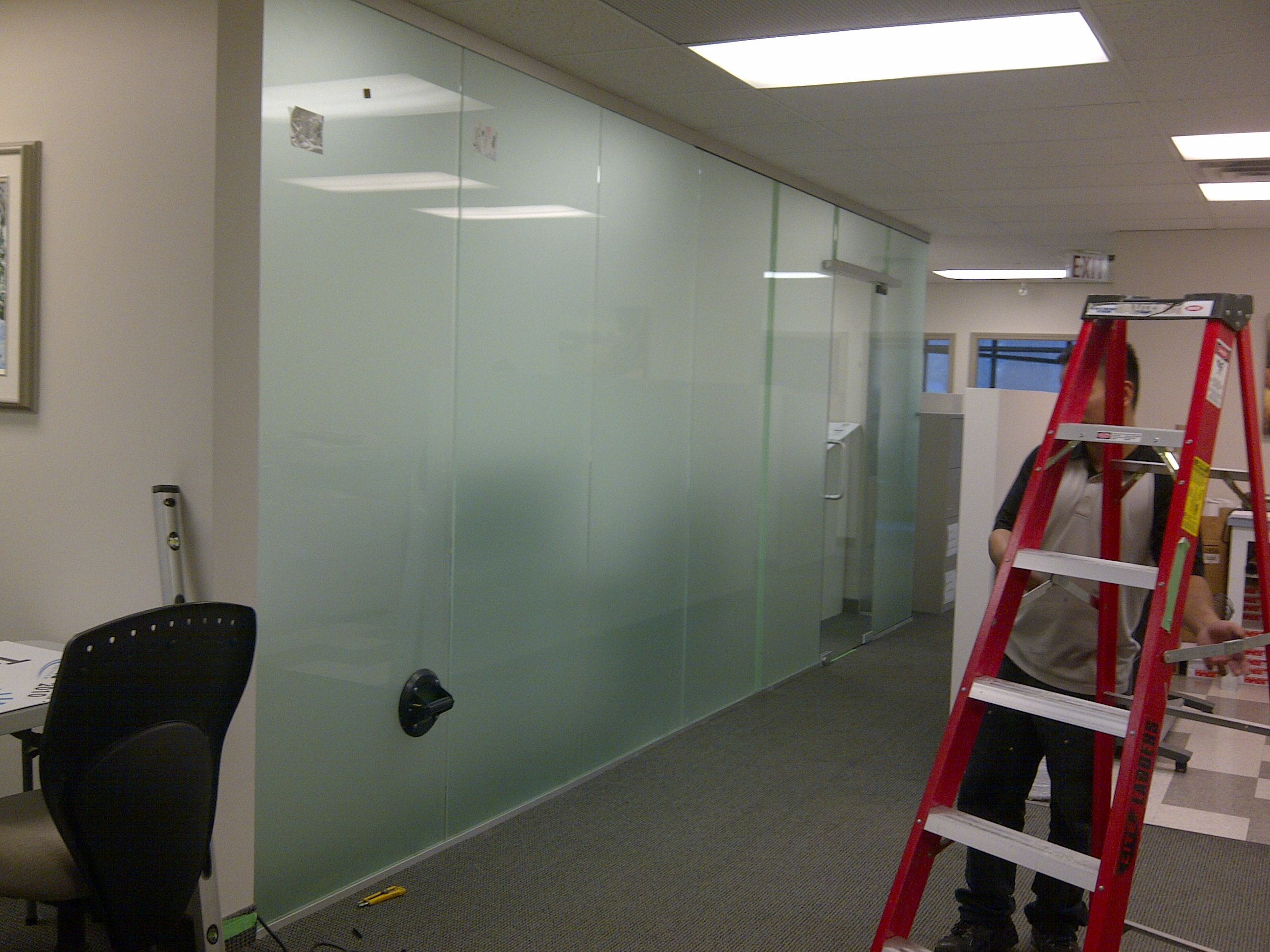 Pics For Frosted Glass Wall