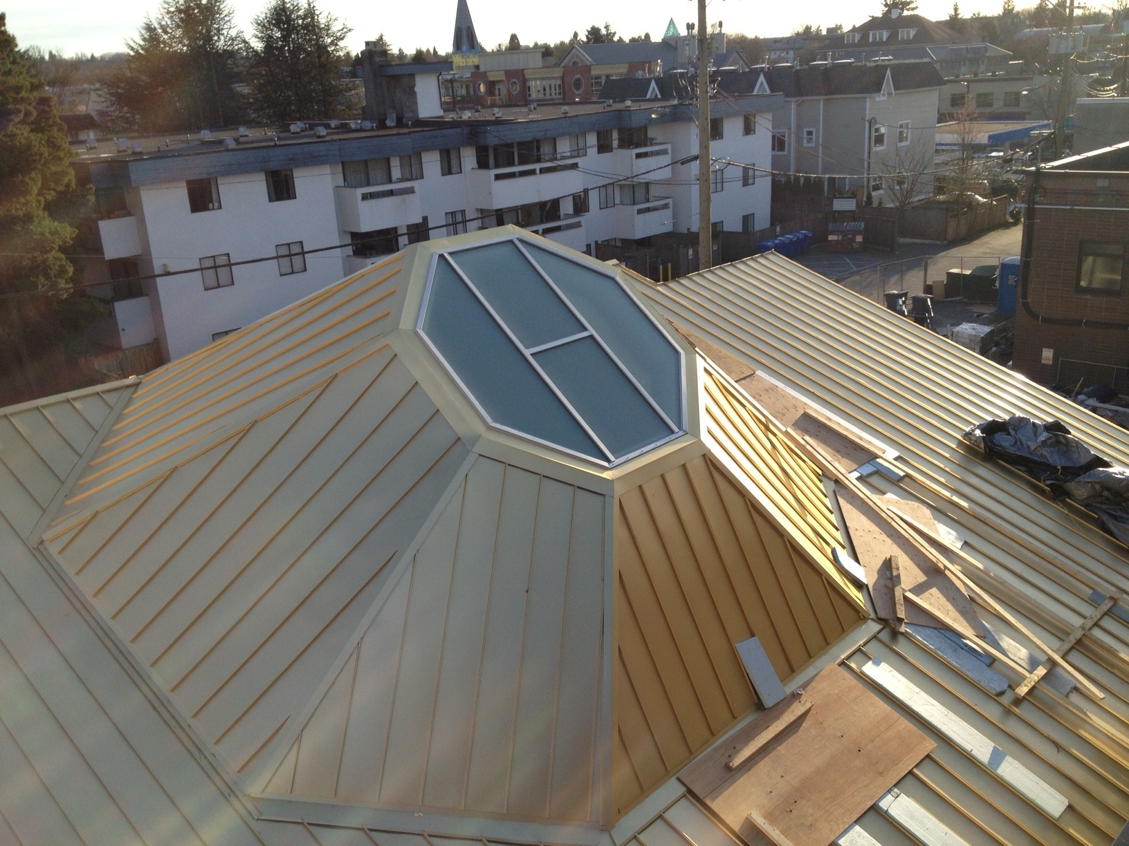 Roof Replacement Commercial Skylights Vancouver North