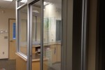 Office aluminum windows and aluminum sliding doors. New windows and doors comes with safety glass panels and all required hardware parts