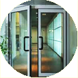 aluminum swinging glass door for commercial building in vancouver, west vancouver, north vancouver, vancouver west, downtown vancouver, burnaby, richmond, new westminster, delta, surrey and langley