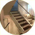 glass railing for residential home in vancouver, west vancouver, north vancouver, vancouver west, downtown vancouver, burnaby, richmond, new westminster, delta, surrey and langley