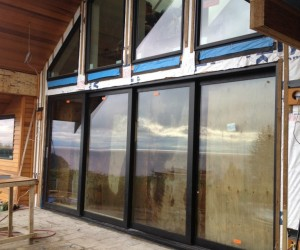 Aluminum Sliding Door for residential home in west vancouver