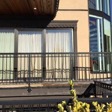 65570 complete ALUMINUM GLASS SLIDING DOOR