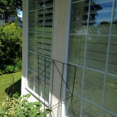 76413 ALUMINUM GLASS WINDOW