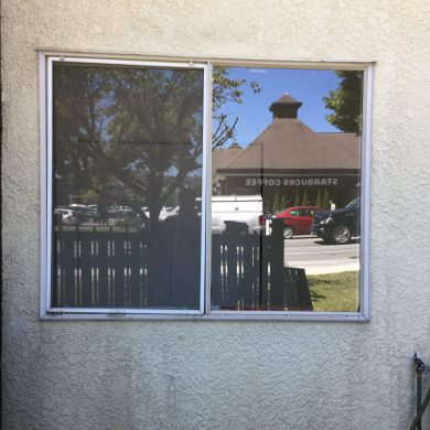 77926 fixed glass window has been replaced