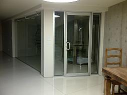 Interior Aluminum Door - Swing Style