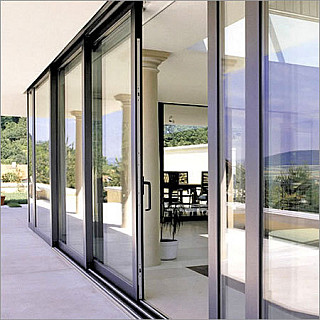 Residential Aluminum Door - Sliding Style