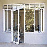 Residential Aluminum Door - Swing Style