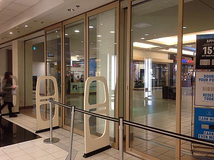 Mall Sliding Aluminum Door System