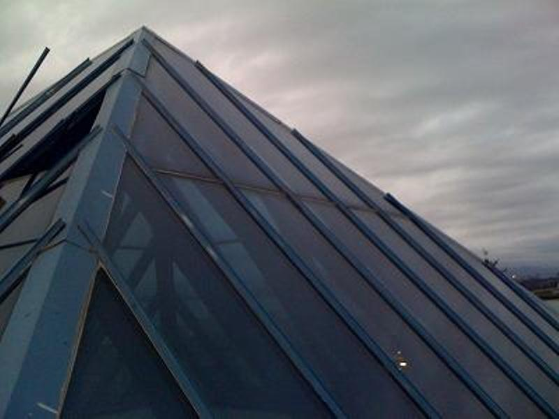 pyramid skylight replacement