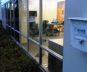 Repair leaking windows for a commercial building. This repair leaking windows job require new caulking work and new gaskets. Repair leaking windows Vancouver.