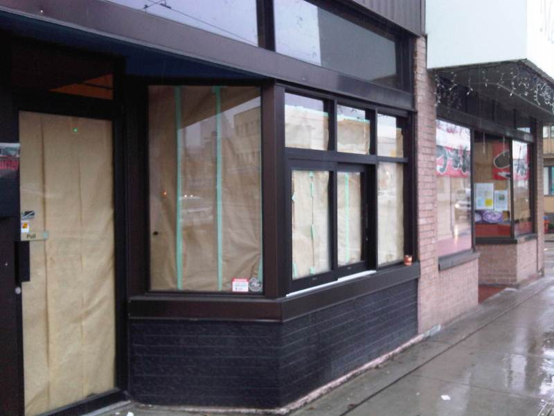 install commercial sliding window system