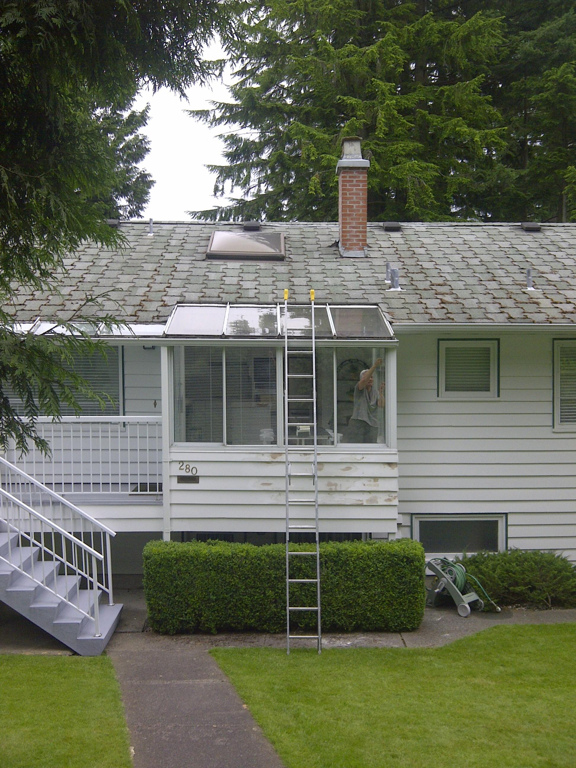 residential glass window installation
