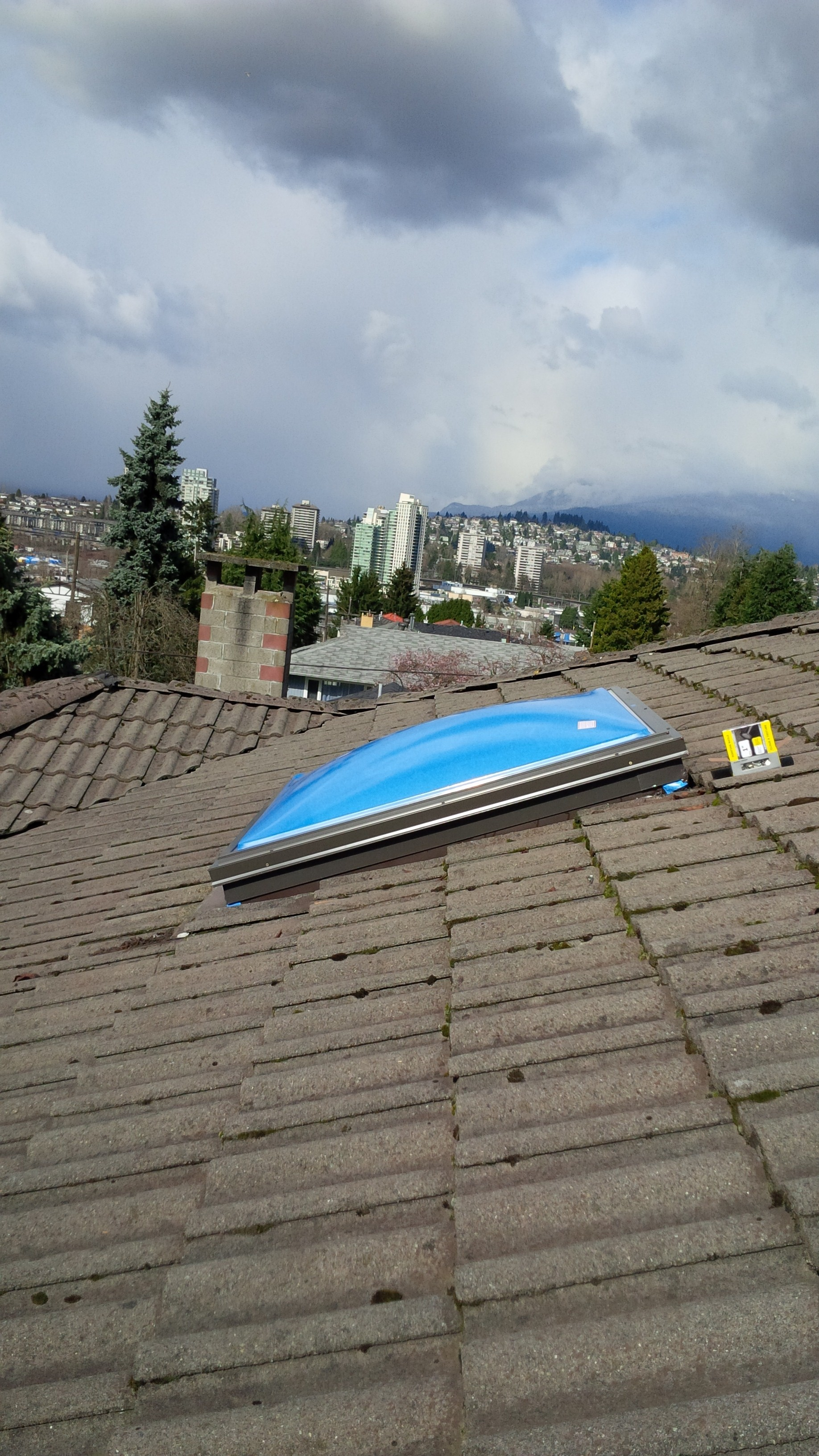 Home Roof Residential Skylights Repair Replacement