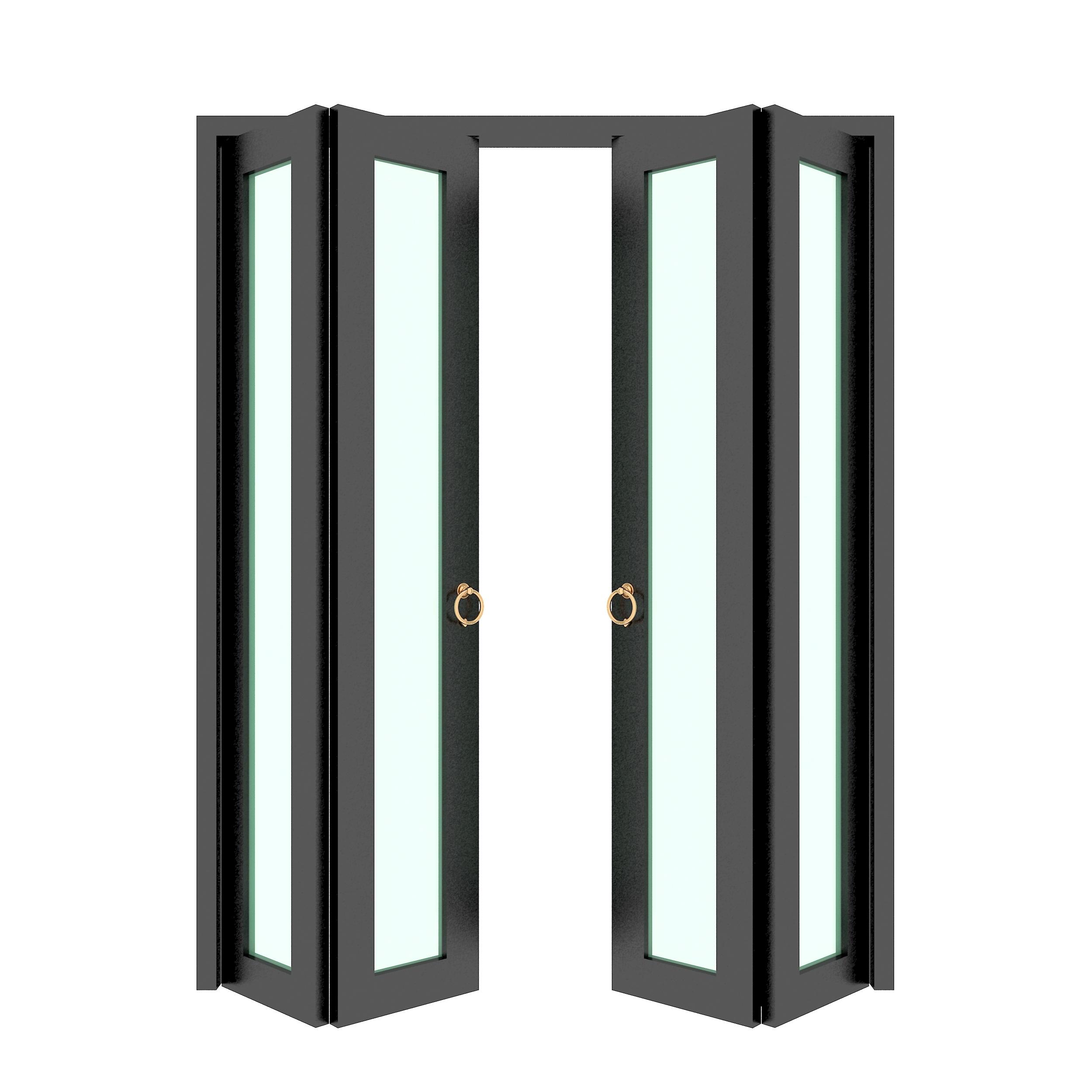 Commercial Aluminum Glass Folding Door
