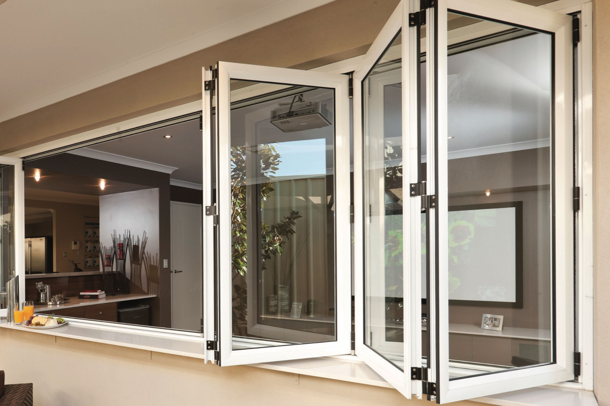 Residential Folding Glass Windows