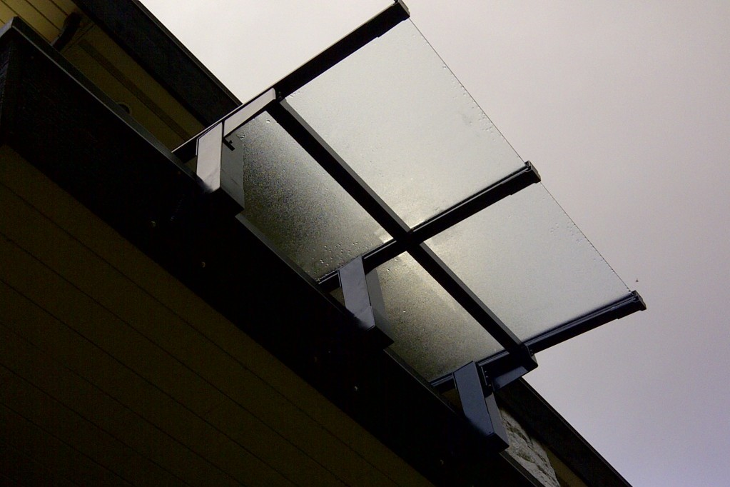 Residential Glass Canopy