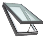 Drop in glass skylight